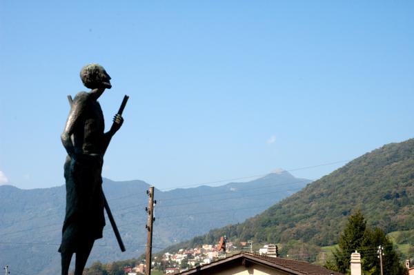 Campestro, Statua di S. Andrea / Statue de Sant'Andrea / Statue des hl. Andreas / Statue of Saint Andrew