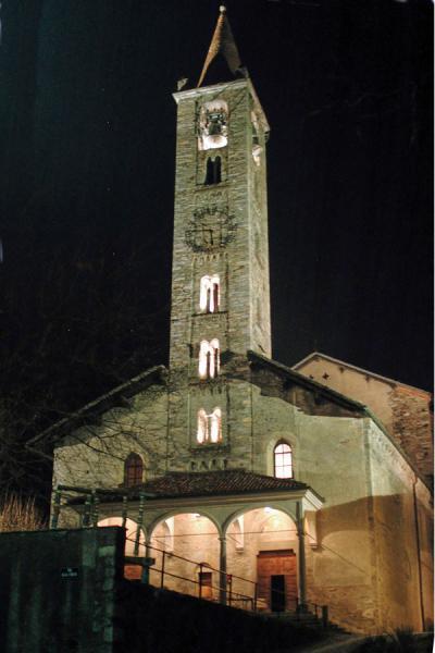Tesserete, chiesa di S. Stefano / Église de Santo Stefano / Kirche S. Stefano / Church of St. Stephen