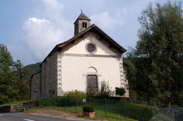 Cagiallo, Chiesa dei Santi Matteo e Maurizio / Église de San Matteo et San Maurizio / Kirche SS. Matteo e Maurizio / Church of Saint Matthew and Saint Maurice